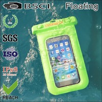 Underwater 20M waterproof bag for iphone4 with earphone