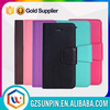 wholesale front and back flip down leather cover case for iphone 5