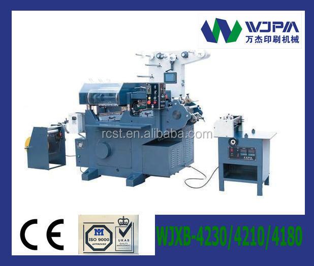 CNC - Flat-bed Label Printing Machine