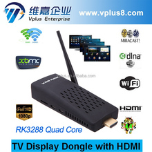 Vplus 34-6R 4k quad core rk3288 android smart tv stick/dongle mk903v