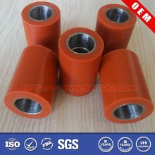 Red polyurethane drive rolller with low cost