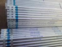 galvanized steel pipe support