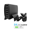 High Speed Universal Charging Station Desktop 60W 6-Port USB Charger Portable Multi Port USB Hub