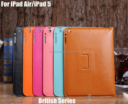 China Best Shockproof Leather Case For iPad Air/iPad 5