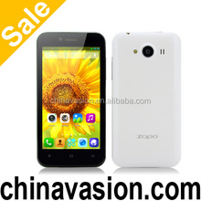 4.3 Inch 3D Android Phone ZOPO ZP600+ with Sharp ASV 3D Screen, Quad Core CPU, Dual Camera (White)