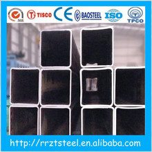 section steel shs rhs 100 x 200 x 8 price /astm a53 erw black steel tube