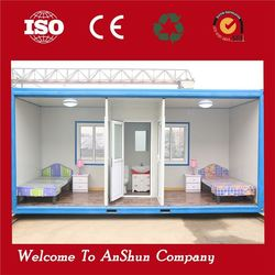 newest style transformed prefabricated movable container house buildingfast container