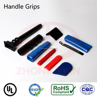 soft PVC stick end hand grips with UL REACH certificates