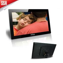 18.5 inch large size digital photo frame with certification ,super slim ,cheap price