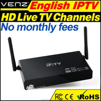 Christmas decoration sale live tv box global hd iptv box