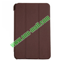 Official Style 3 Floding Leather Smart Cover Case for Lenovo A1000