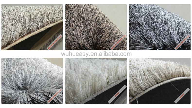 glanzend rood zacht lang haar tapijt voor woonkamer-tapijt-product ...
