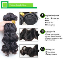 Great length no mix better price hair 3 bundle 7a unprocessed body wave