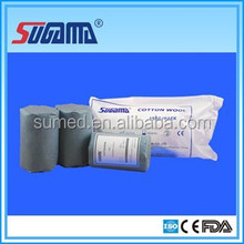 Hospital / clinic / pharmacy degreased surgical cotton roll