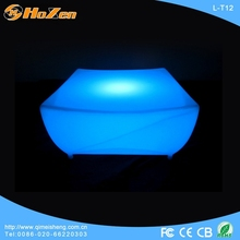 light up led commercial bar counter led high top tables
