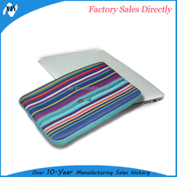 OEM service bottom price rainbow top quality laptop bag
