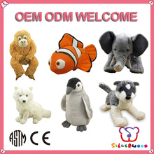 Over 20 years experience factory supply customized toy like seal stuffed animal
