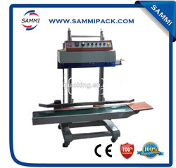 Automatic Vertical Plastic Bag Sealing Machine/electric plastic bag heat sealer