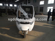 Electric passenger three wheeler for taxi