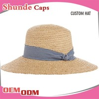 Promotional Straw Hat Drinking Straw Cap Cheap Straw Hat