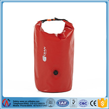 PVC tarpaulin waterproof dry sack bag with valve