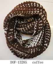 2016 Hot designer vogue europe winter knitted neckerchief wrap twice