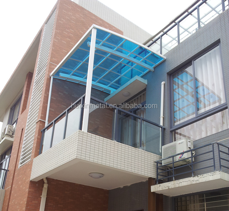 haute qualit aluminium patio pluie auvent ombre de pluie. Black Bedroom Furniture Sets. Home Design Ideas