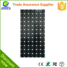 best photovoltaic efficiency high quality solar panel