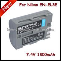 Digital Camera Battery For Nikon EN-EL3e DSLR D700,DSLR D900