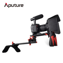 Aputure V2 set camera steadicam for dslr