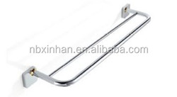 Wholesale Europe standard high grade wall-mounted double towel bar