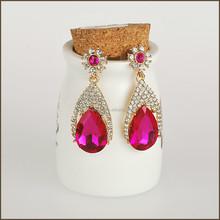 2015 fashion big drop earring in Zinc Alloy Jewelry