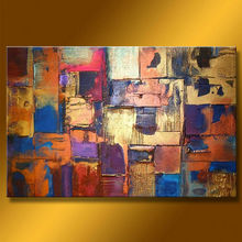 handmade pop colorful modern abstract
