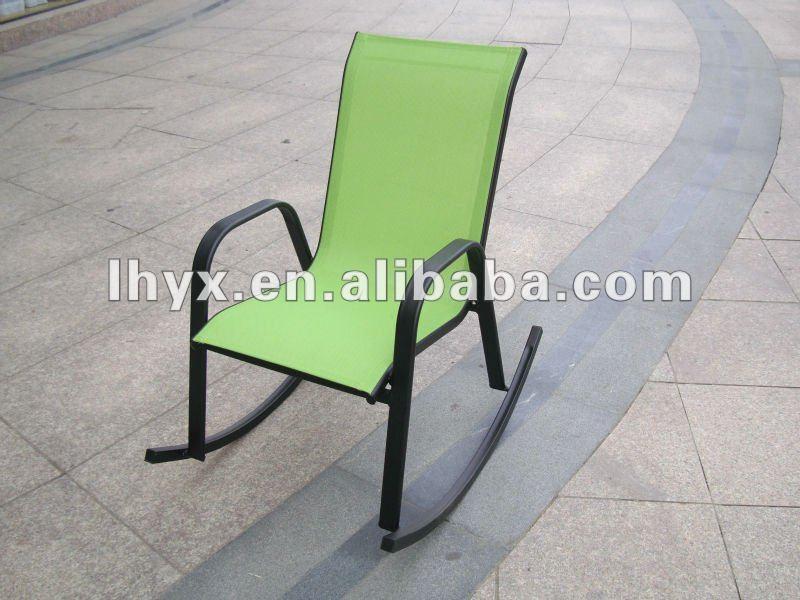 Jard n de metal relax mecedora sillas de metal for Mecedoras para jardin