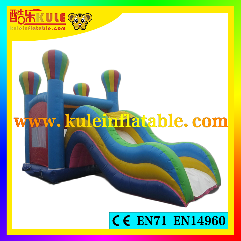Kule inflable castillo hinchable tema globo inflable combo niños air jumper