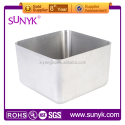 trough sink stainless