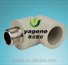 varieties of ppr pipe fitting male elbow and female elbow
