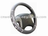 steering wheel cover white