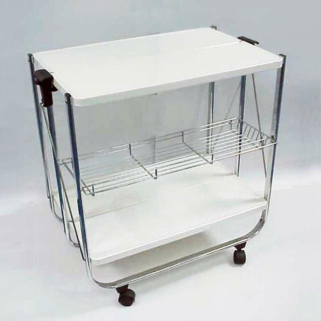 2 tier moderno telaio in metallo da cucina carrello - Carrello cucina moderno ...