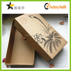 2016 Custom design gift box packaging with lid