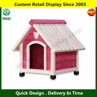 Frame Pink Princess Pet Dog House YM6-054
