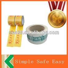excelente adherencia y propiedades de corte cintas personalizadas