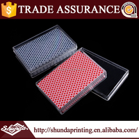 2015 new products poker playing cards , custom plastic poker card from China