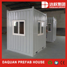 prefabricated portable/removable toilets/prefab 10 ft container house