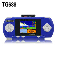 PVP new electronic video game,electronic game, 2.4'' inch multicolor TFT Lcd screen handheld game player