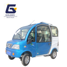 Heavy Electric Four Wheel Tricycle