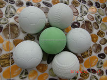 2014 Hot different shapes hollow super high bouncing balls