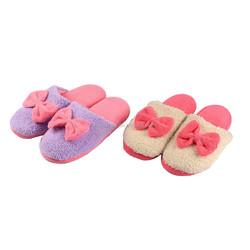 ladies rubber slippers memory foam plush shoes slipper women china