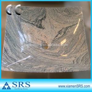 Chine juparana granit salle de bains évier en pierre