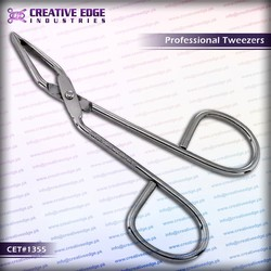 High quality professional best tweezers for eyebrows / wholesale eyebrow tweezers / CES 1355